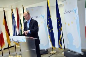 Formanden for det EU-kritiske Libertas, Declan Ganley (foto: Flickr)