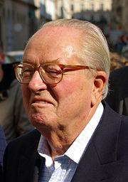 "Den franske nationalist Le Pen kalder gaskamrene under Anden Verdenskrig en ""detalje i historien"". Foto: Wikipedia"
